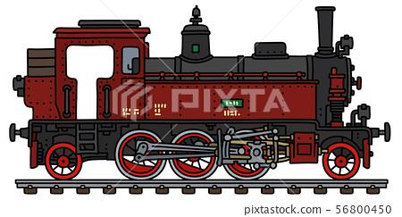 The old tank engine steam locomotive 56800450