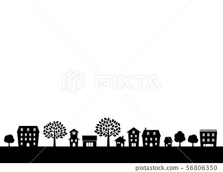 城市景觀剪影 56806350