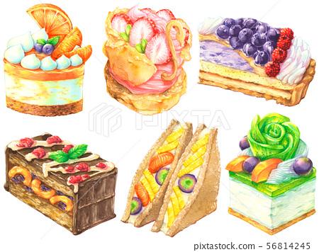 多彩蛋糕集 56814245