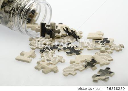 Jigsaw Puzzle piece 56818280