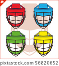 Cool helmets for martial arts, martial arts. Full head protection from knockout, strike. Lattice to 56820652