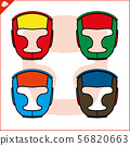 Cool helmets for martial arts, martial arts. Full head protection from knockout, strike. Lattice to 56820663