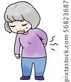 腰痛 56823687