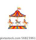 Merry Go Round Carousel 56823961