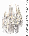 World heritage, Spain, Sagrada Familia 56829856