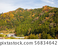 ทิวทัศน์หมู่บ้านบนภูเขา 1 56834642