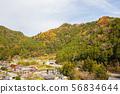 ทิวทัศน์หมู่บ้านบนภูเขา③ 56834644