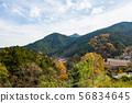 ทิวทัศน์หมู่บ้านบนภูเขา④ 56834645
