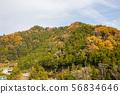 ทิวทัศน์หมู่บ้านบนภูเขา⑤ 56834646