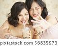 女性朋友生活方式 56835973