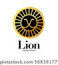 lion logotype template 56836177
