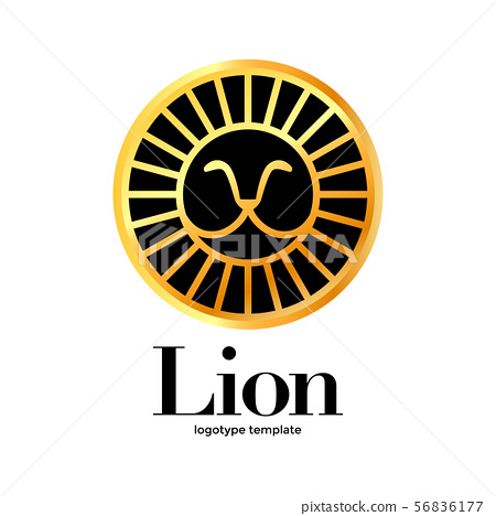 lion logotype template 56836177