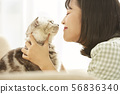 女性生活寵物 56836340