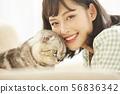Women lifestyle pets 56836342