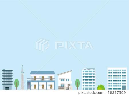 Building background Urban 56837509
