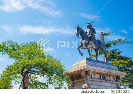 日期Masamune騎馬雕像(仙台市) 56839023