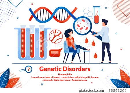 Informational Poster Geneticist Disorders Flat. 56841263