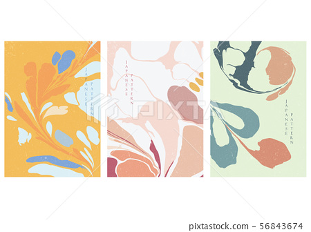Painting background with brush stroke vector.  56843674