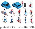 Eco Transport Isometric Set 56846996