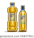 Vector Bottles for Canola Oil 56847901