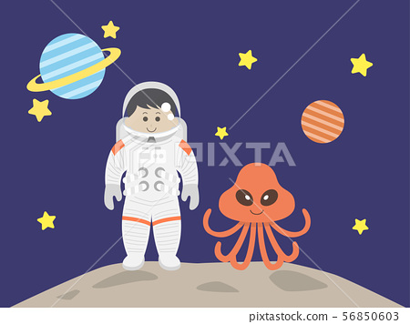 宇航員和外星人 56850603