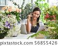 Young Asian woman entrepreneur 56855426