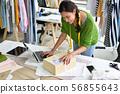 Young Asian woman entrepreneur 56855643