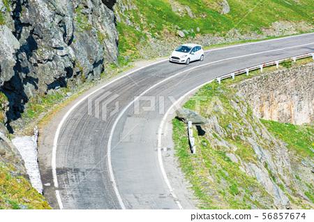 transfagarasan mountain road 56857674