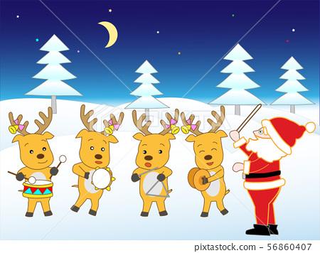 Santa Claus Christmas Concert 56860407