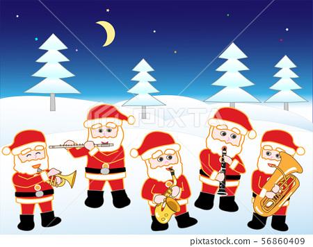 산타들의 크리스마스 콘서트 56860409