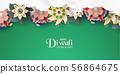 Diwali is festival of lights of Hindu. 56864675