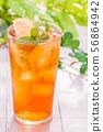清爽的冰茶 56864942