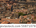 Beautiful view of the old city from above 56871078