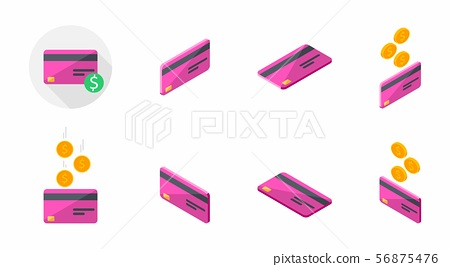 Credit card Pack - Pink 56875476
