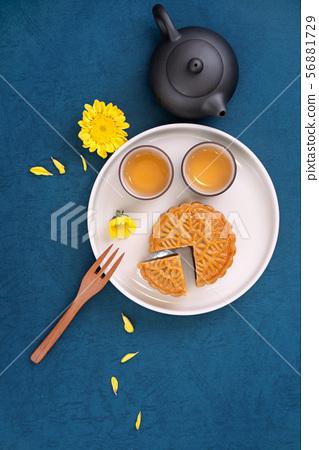 中秋節月餅蓋貝 56881729