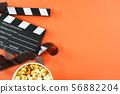 비디오,영화 컨셉. 무비 백그라운드 56882204