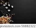 비디오,영화 컨셉. 무비 백그라운드 56882322
