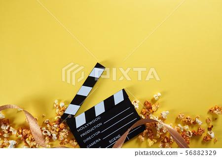 視頻,電影的概念。電影背景 56882329