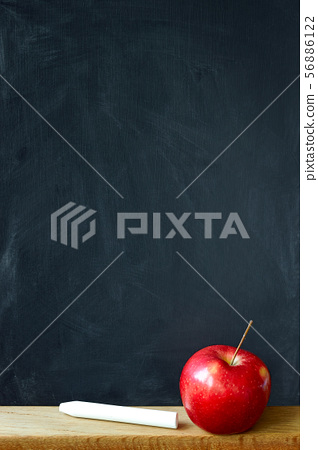 Close-up black chalk board in chalk stains chalk