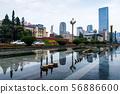 Tianfu square in Chengdu, China 56886600