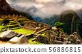 Ancient Peruvian City Machu Picchu 56886815