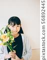 ช่อดอกไม้ 56892445
