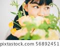 ช่อดอกไม้ 56892451