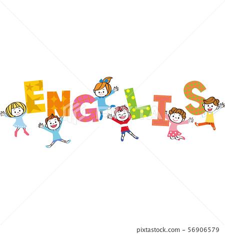 Children learning English 56906579