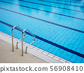 Swimming Pool Stairs water sport summer background 56908410