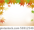 色的葉子背景 56912546