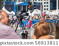 TV Camera Operator at the live event 56913811
