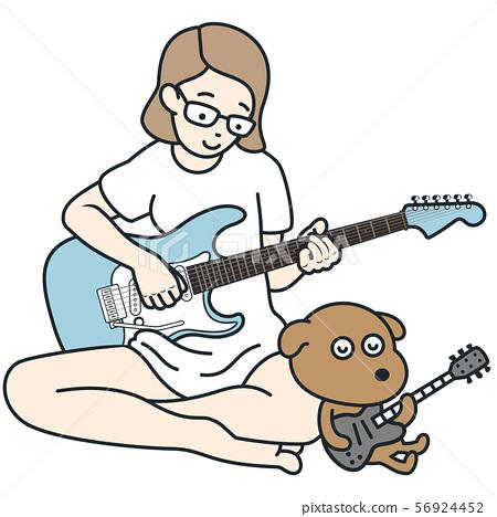 음악을 즐기는 일상 생활 01 56924452