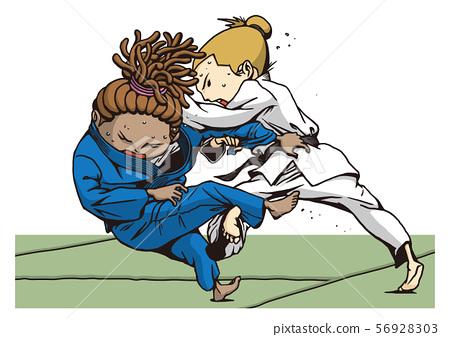 Judo Girls Lightweight 56928303