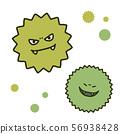 精力充沛的病毒兄弟,手繪插圖 56938428